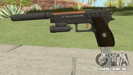 Hawk And Little Pistol GTA V (Orange) V3 para GTA San Andreas