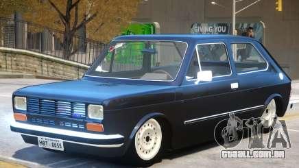 Fiat 147 V1 para GTA 4