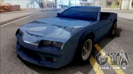 FlatOut Daytana Cabrio para GTA San Andreas