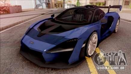 McLaren Senna 2019 Blue para GTA San Andreas