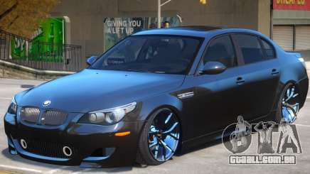 BMW M5 E60 V1.2 para GTA 4