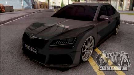 Skoda Superb para GTA San Andreas