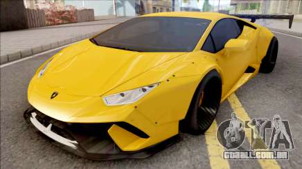 Lamborghini Huracan Performante Yellow para GTA San Andreas