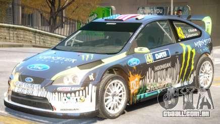 Ford Focus RS V1 PJ1 para GTA 4