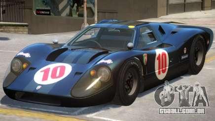 Ford GT40 PJ2 para GTA 4