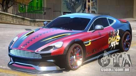 Aston Martin Vanquish PJ para GTA 4