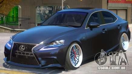 Lexus IS 350 V1.1 para GTA 4