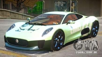 Jaguar C-X75 V1.2 PJ1 para GTA 4