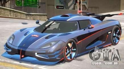 Koenigsegg One V1.2 para GTA 4