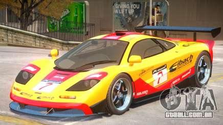 McLaren F1 V1 PJ3 para GTA 4