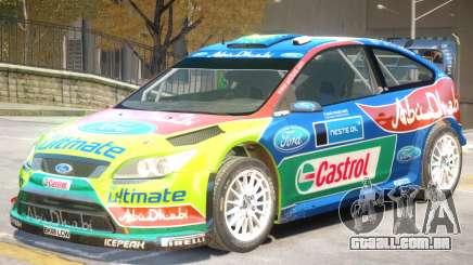 Ford Focus RS V1 PJ2 para GTA 4