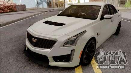 Cadillac CTS-V White para GTA San Andreas