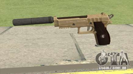 Hawk And Little Pistol GTA V (Army) V6 para GTA San Andreas