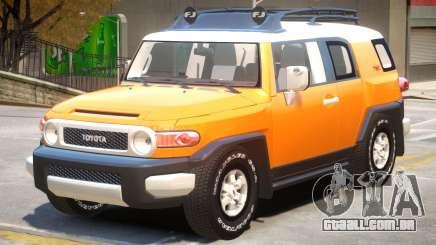 Toyota FJ Cruiser V1 para GTA 4