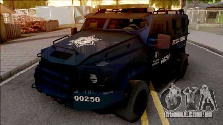 Lenco Bearcat G3 Policia Federal para GTA San Andreas