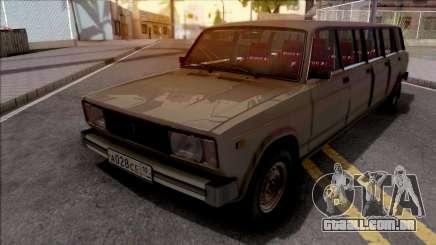 ВАЗ 2104 de Limusina para o Pleno Gangue de CJ para GTA San Andreas