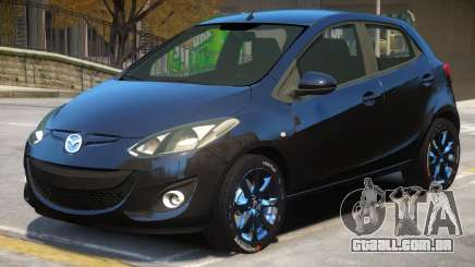 Mazda 2 Improved para GTA 4