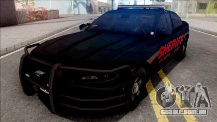 Dodge Charger LSSD Low Poly para GTA San Andreas