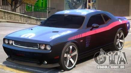 Challenger SRT8 PJ2 para GTA 4