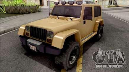 GTA V Canis Mesa Grande SA Style para GTA San Andreas