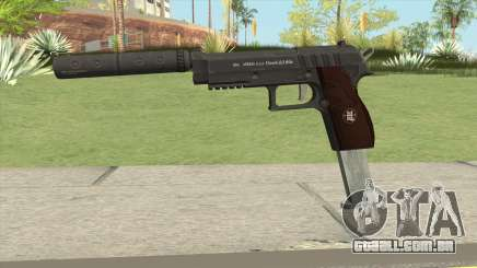 Hawk And Little Pistol GTA V Black (New Gen) V7 para GTA San Andreas