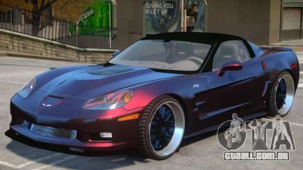Chevrolet Corvette ZR1 V1 para GTA 4