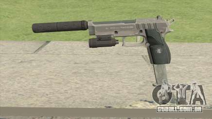 Hawk And Little Pistol GTA V Black (Old Gen) V3 para GTA San Andreas
