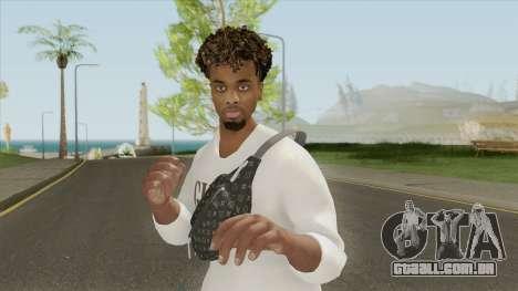 Angel Gomes Skin para GTA San Andreas