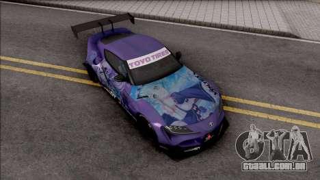 Toyota Supra A90 2019 Rocket Bunny Pandem para GTA San Andreas