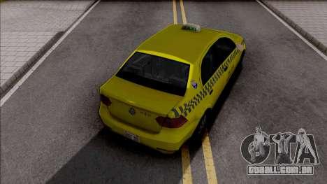 Volkswagen Voyage G6 Taxi JF para GTA San Andreas