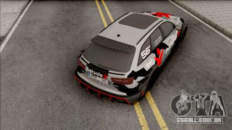 Audi RS6 2015 DTM Gumball 3000 para GTA San Andreas