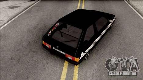 Lada Samara 1989 Blyatmobile para GTA San Andreas