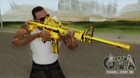 M4A1 Gold (French Armed Forces) para GTA San Andreas