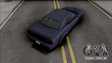 GTA V Bravado Gauntlet Hellfire para GTA San Andreas