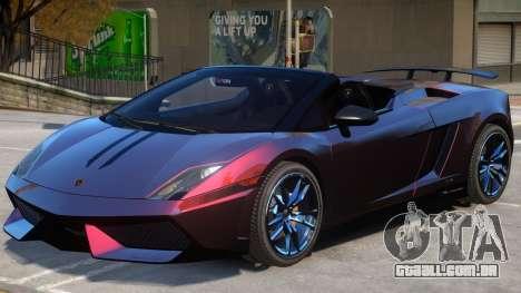Gallardo Spyder Performante para GTA 4