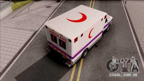 Ambulance Malaysia Hospital para GTA San Andreas