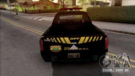 Mitsubishi L200 Triton 2010 Policia Federal para GTA San Andreas