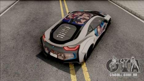 BMW i8 2017 Liberty Walk para GTA San Andreas