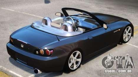 Honda S2000 Stock para GTA 4