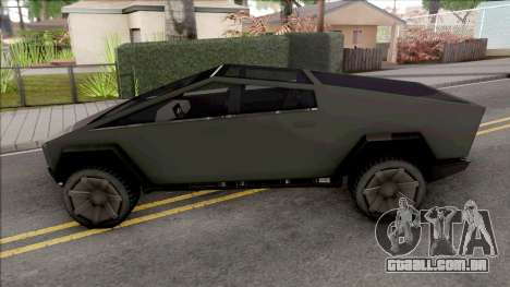 Tesla Cybertruck 2020 Low Poly para GTA San Andreas