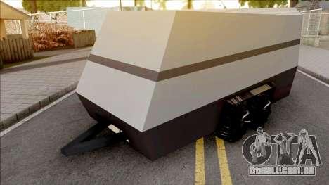 Tesla Cybertrailer para GTA San Andreas
