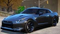Nissan GTR R35 V1 para GTA 4
