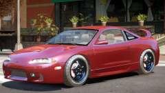Mitsubishi Eclipse Stock para GTA 4