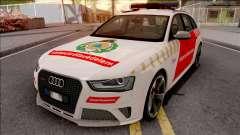 Audi RS4 Avant Hungarian Fire Department para GTA San Andreas