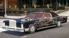 1979 Lincoln Continental para GTA 4
