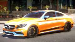 Mercedes Benz C63S V1 para GTA 4