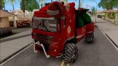 DAF XF Christmas Truck para GTA San Andreas