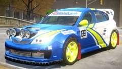 Subaru Impreza Drift V1 PJ7 para GTA 4