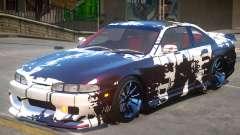 Nissan Silvia S14 V1 PJ2 para GTA 4