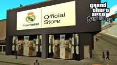 O Real Madrid Loja para GTA San Andreas